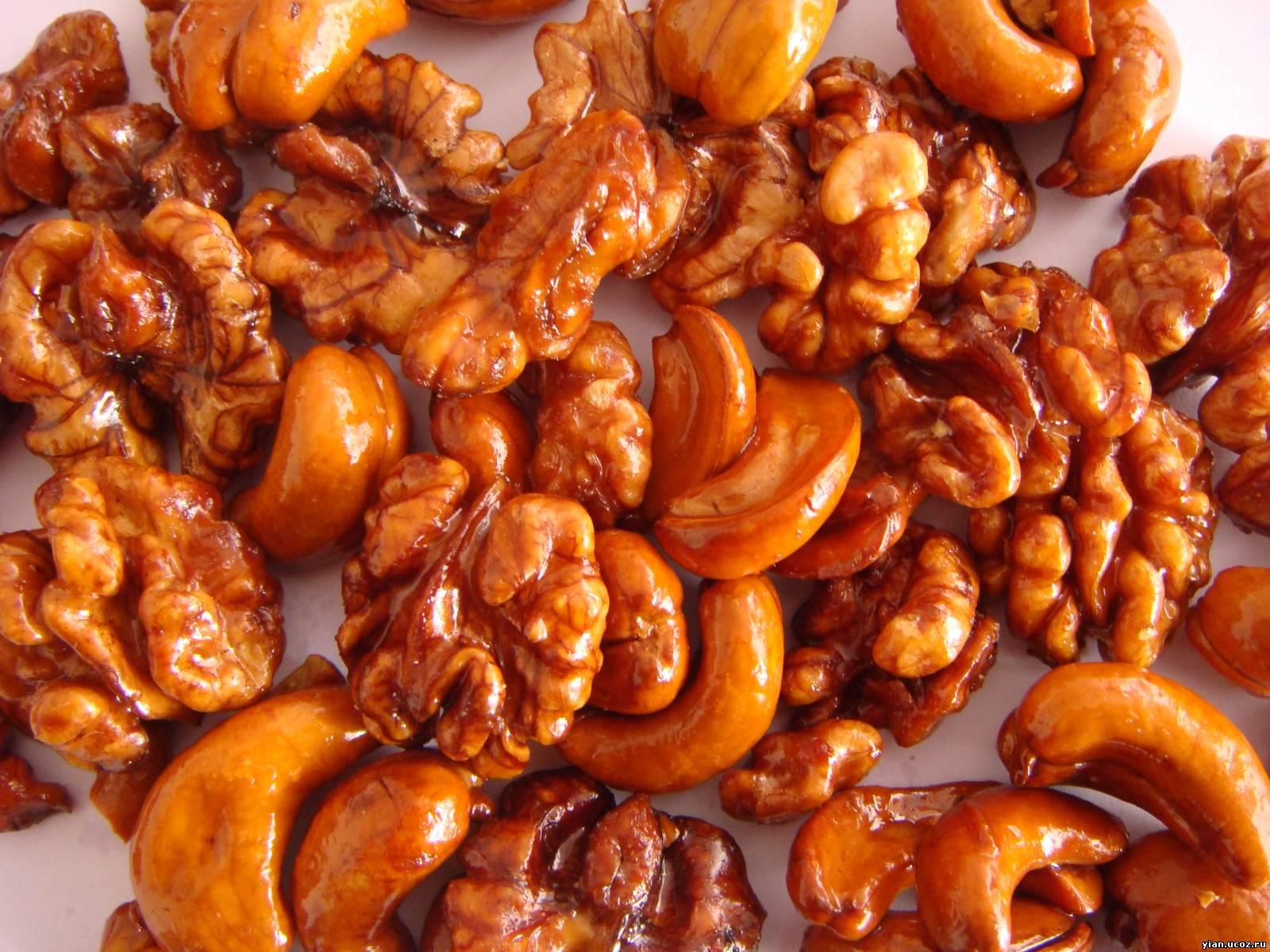 Грецкие орехи в сахаре рецепт